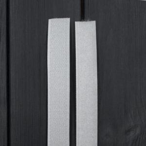 Липучка для одежды пришивная 20 мм белая
