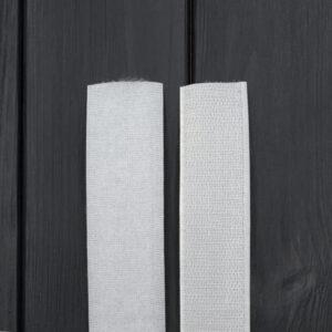 Липучка для одежды пришивная 30 мм белая