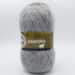 Пряжа Madame Tricote Angora-Полушерсть 007 серый