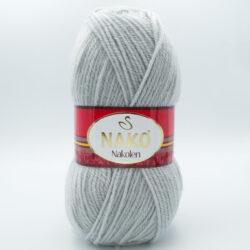 Пряжа Nako Nakolen 6671 серый дымчатый
