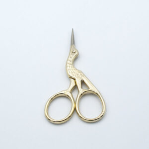 Ножницы-цапельки 9,5 см золото