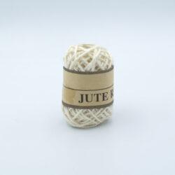 Шнур джутовый 3 мм молочный
