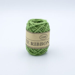Шнур джутовый 3 мм зеленый