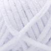 Пряжа плюшевая Wolans Bunny Baby 10001 белый 18254