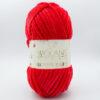 Пряжа плюшевая Wolans Bunny Baby 10008 красный