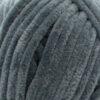Пряжа плюшевая Wolans Bunny Baby 10009 темно-серый 18386