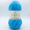 Пряжа плюшевая Wolans Bunny Baby 10012 голубая бирюза