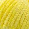 Пряжа плюшевая Wolans Bunny Baby 10014 желтый 18402