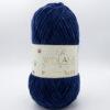 Пряжа плюшевая Wolans Bunny Baby 10017 темно-синий
