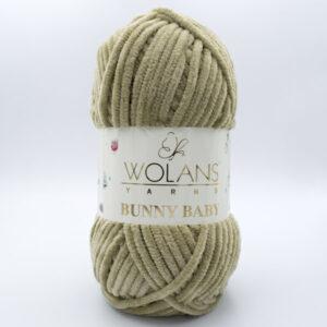 Пряжа плюшевая Wolans Bunny Baby 10029 бежевый