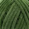 Пряжа плюшевая Wolans Bunny Baby 10032 зеленая трава 18458