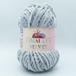 Пряжа плюшевая Himalaya Velvet 90025 серый