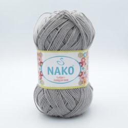 Пряжа Nako Solare Amigurumi 11239 серый