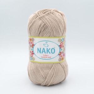 Пряжа Nako Solare Amigurumi 2250 бежевый