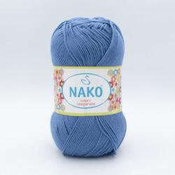 Пряжа Nako Solare Amigurumi 2968 голубой джинс
