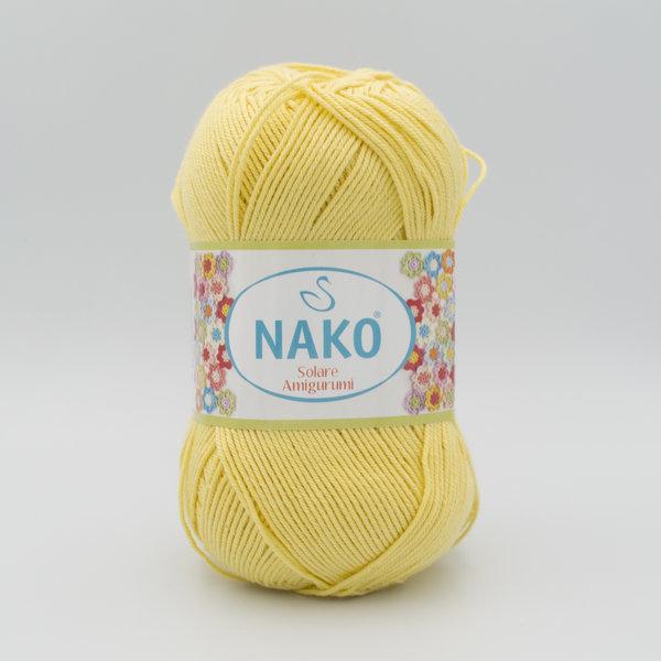 Пряжа Nako Solare Amigurumi 4492 светло-желтый