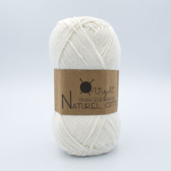 Пряжа Vizell Naturel Cotton молочный