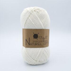 Пряжа Vizell Naturel Cotton молочный