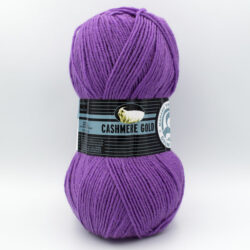 Пряжа Madame Tricote Cashmere Gold 059 ярко-фиолетовый
