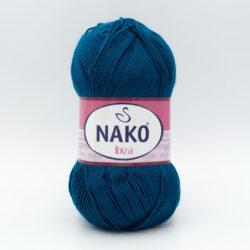 Пряжа Nako Ibiza 10328 петроль