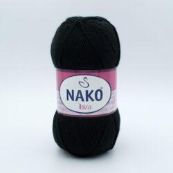 Пряжа Nako Ibiza 217 черный