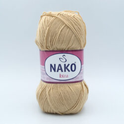 Пряжа Nako Ibiza 219 бежевый