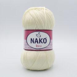 Пряжа Nako Ibiza 256 молочный