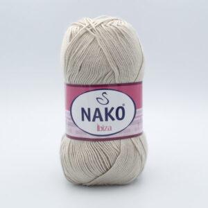 Пряжа Nako Ibiza 6383 светлый бежевый