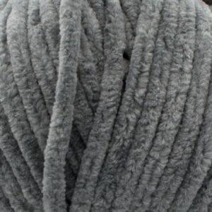 Пряжа плюшевая Vizell Baby Smile 005 серый