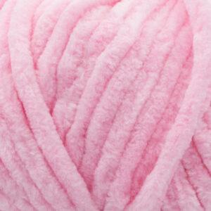Пряжа плюшевая Vizell Baby Smile 008 светло-розовый