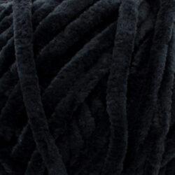 Пряжа плюшевая Vizell Baby Smile 010 черный