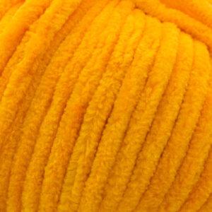 Пряжа плюшевая Vizell Baby Smile 013 оранжевый