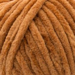 Пряжа плюшевая Vizell Baby Smile 014 горчично-коричневый