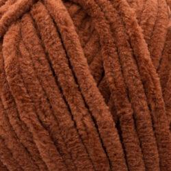 Пряжа плюшевая Vizell Baby Smile 015 коричневый
