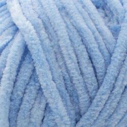 Пряжа плюшевая Vizell Baby Smile 018 голубой