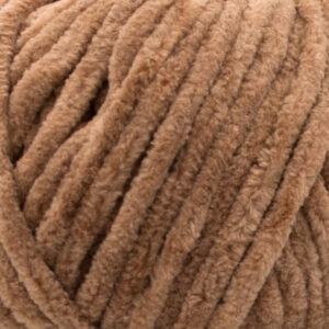 Пряжа плюшевая Vizell Baby Smile 023 светло-коричневый