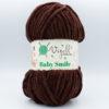 Пряжа плюшевая Vizell Baby Smile 024 шоколад