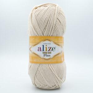 Пряжа Alize Coton Gold Plus 67 светло-бежевый