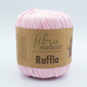 Пряжа Fibranatura Raffia 116-17 нежно-розовый