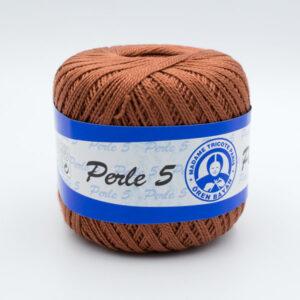 Пряжа Madame Tricote Perle 5 6602 коричневый