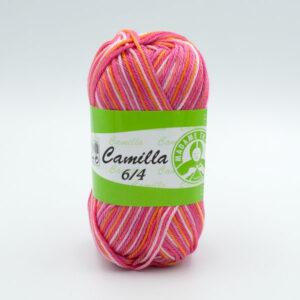 Пряжа Madame Tricote Camilla 5332 розово-оранжевый