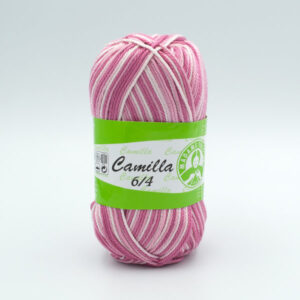 Пряжа Madame Tricote Camilla 5338 розово-белый