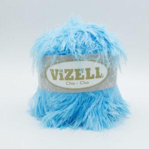Пряжа Vizell Cha-Cha бирюзовый