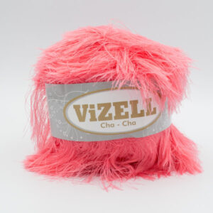 Пряжа Vizell Cha-Cha коралловый