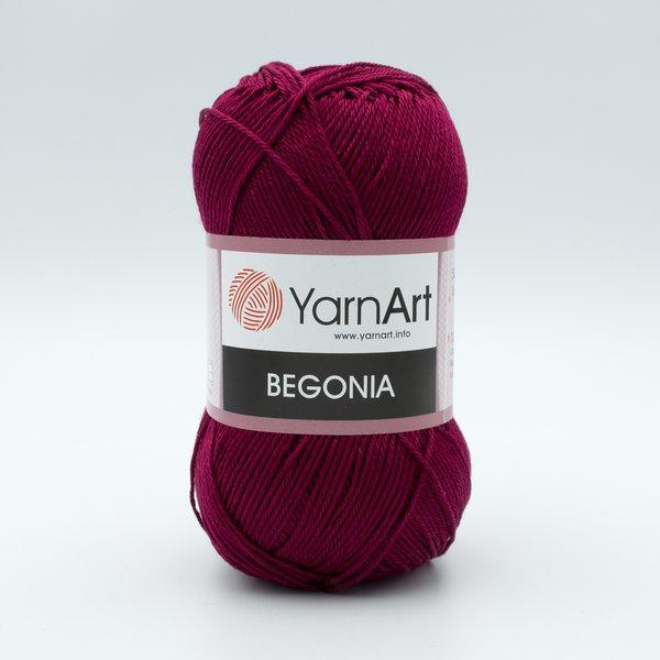 Пряжа YarnArt Begonia 112 вишневый