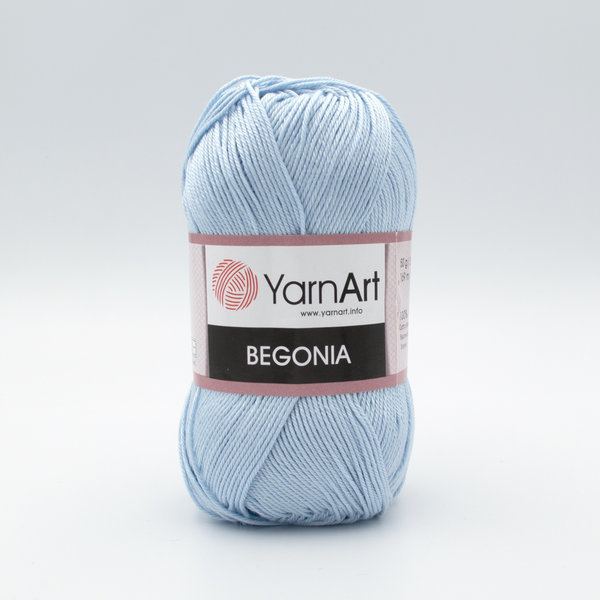Пряжа YarnArt Begonia 4917 светло-голубой