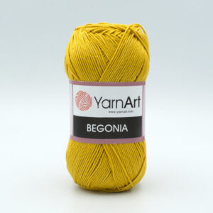 Пряжа YarnArt Begonia 4940 горчичный