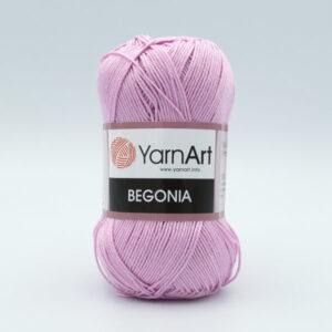 Пряжа YarnArt Begonia 5049 розово-сиреневый