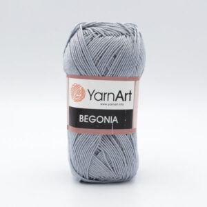 Пряжа YarnArt Begonia 5326 серый