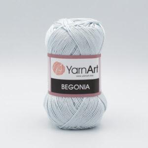 Пряжа YarnArt Begonia 54462 светло-серый